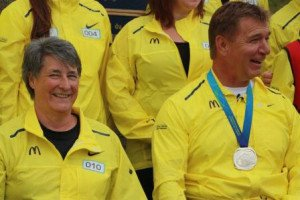 Joanne MacDonald and Rick Hansen