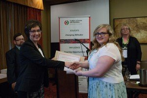 Jennifer Brown - winner of the Scotiabank COD-NL Scholarship